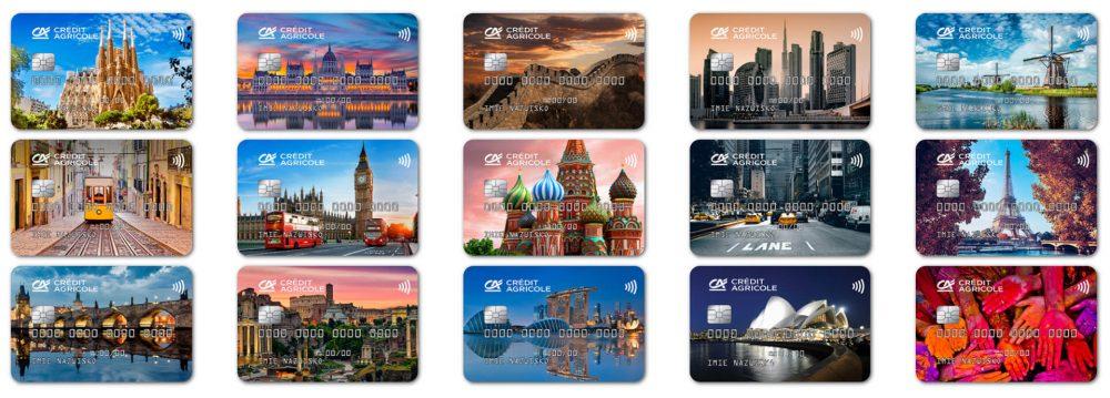 Credit Agricole karty Obywatel Świata