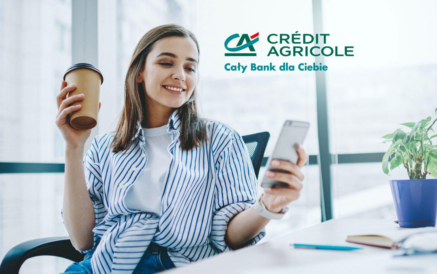 Credit Agricole obsługa header